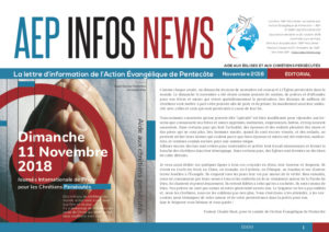 AEP Infos News novembre 2018