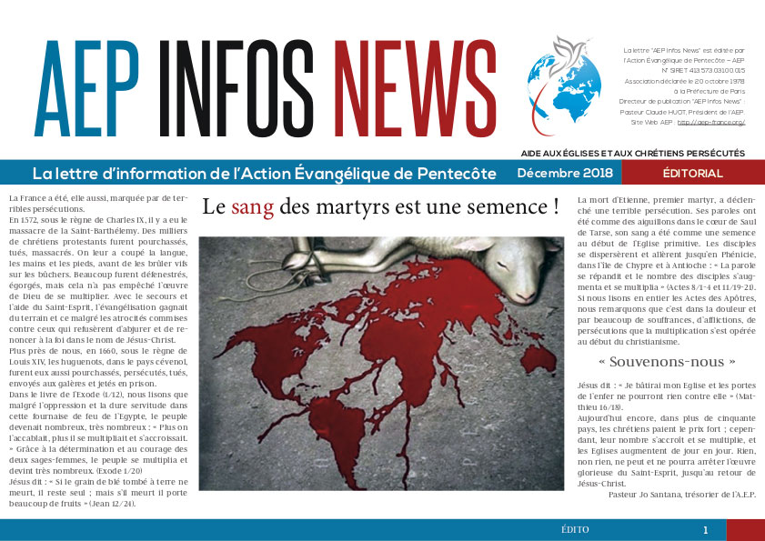 AEP Infos News décembre 2018