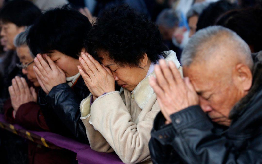 Chine, des responsables chrétiens condamnés à de lourdes peines de prison !