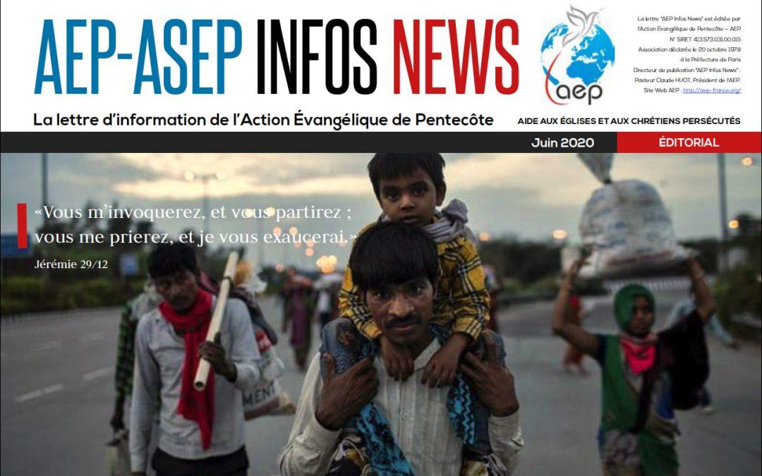 AEP Infos News juin 2020