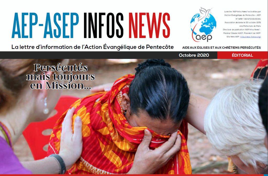 AEP-ASEP Infos News octobre 2020