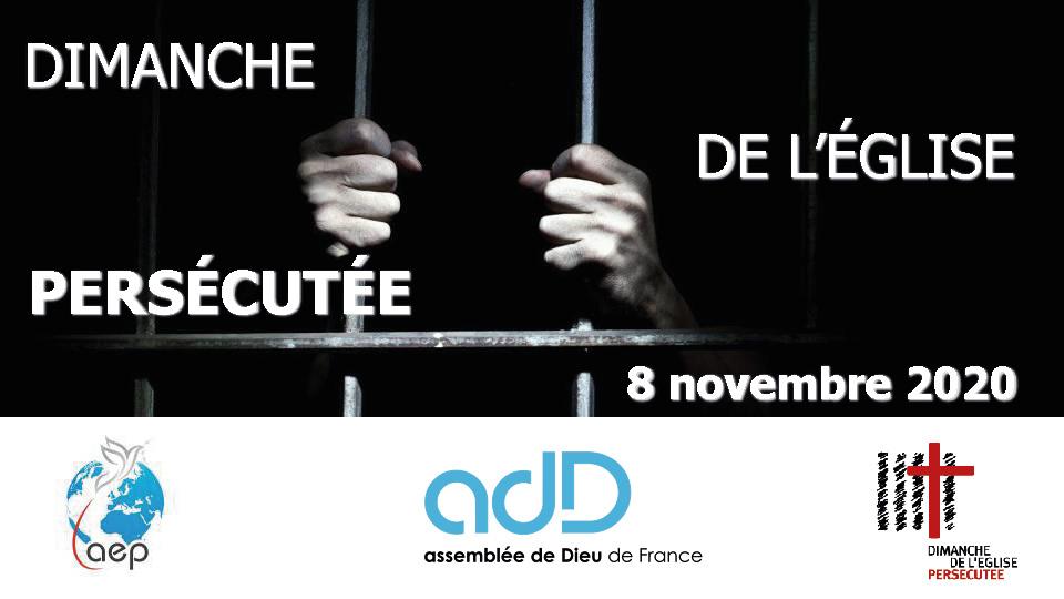 AEP-ASEP – Dimanche de l'Église persécutée 08 novembre 2020