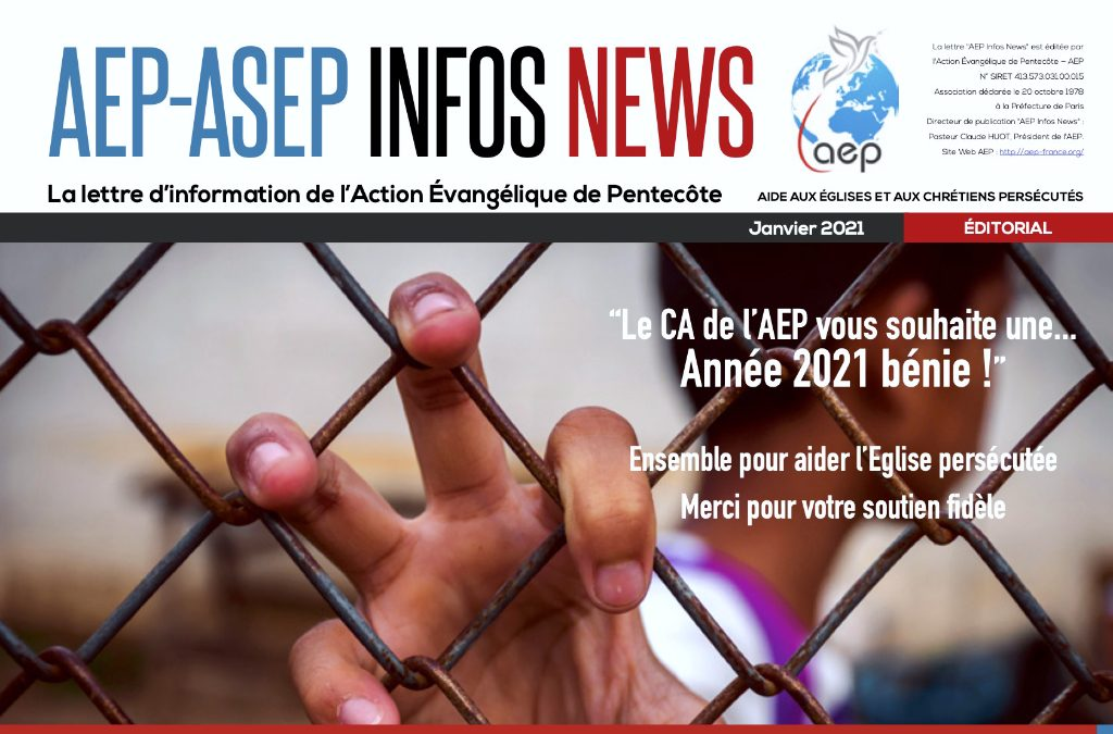AEP-ASEP Infos News janvier 2021