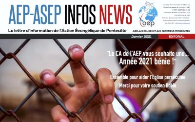 AEP-ASEP Infos News janvier 2021