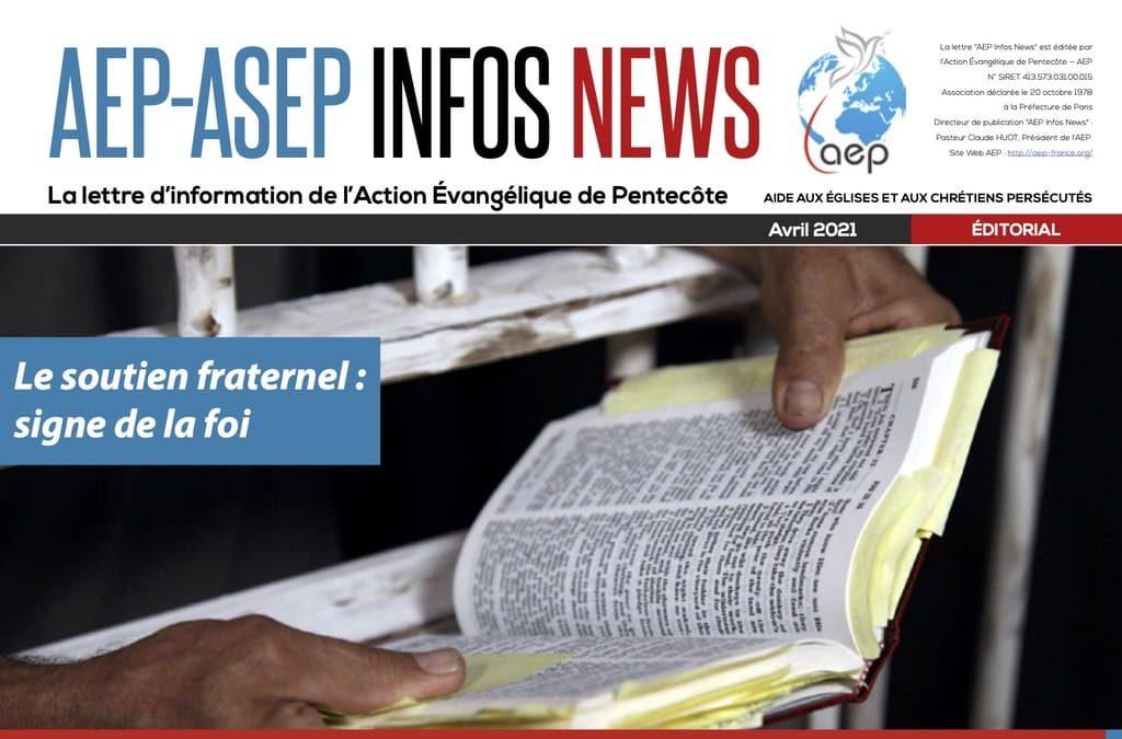 AEP-ASEP Infos News avril 2021